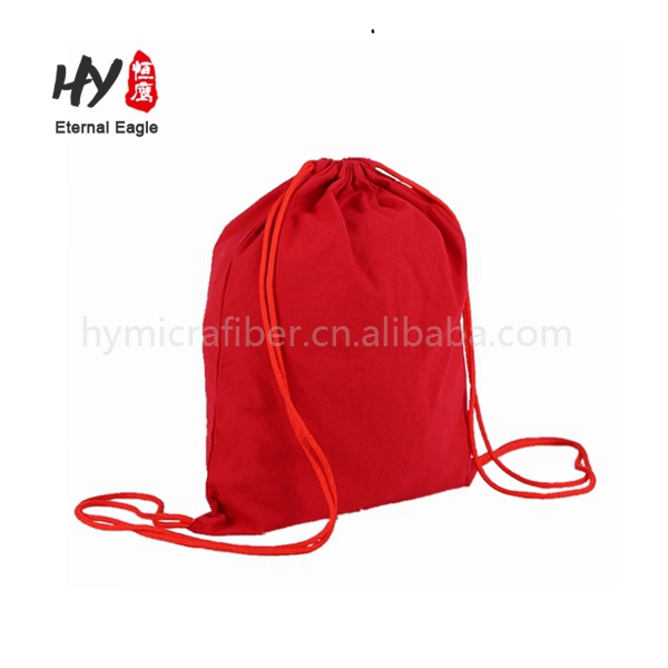 Wholesale canvas round bottom backpack bag