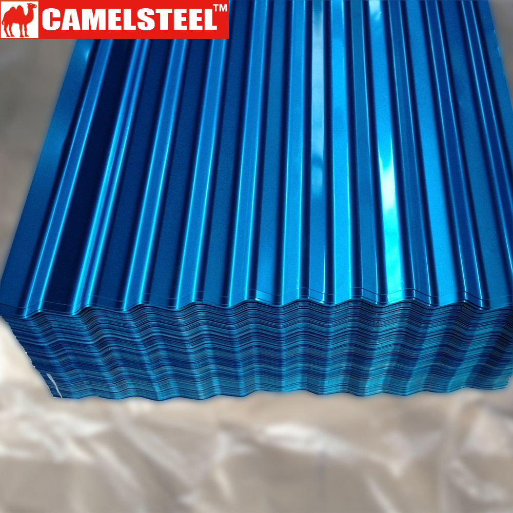 Blue Corrugated Roofing Sheet/Zinc Aluminum Roofing Sheet/Metal Roof