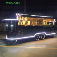 Hot selling airstream mobile catering food trailer for crepe burger