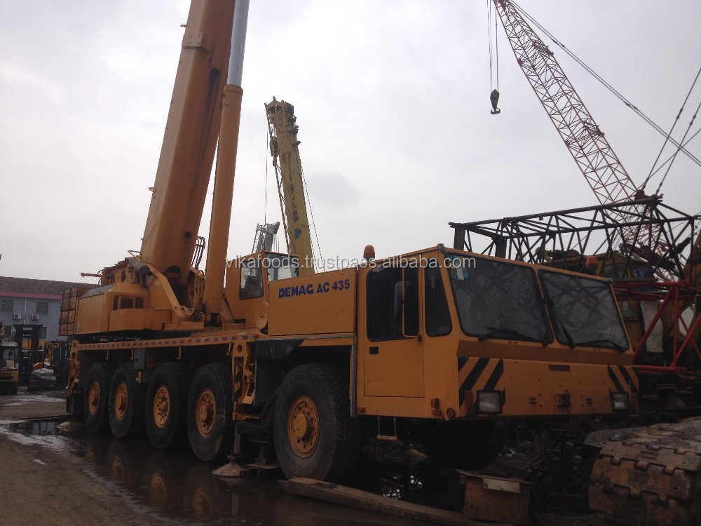 Used Demag 150t AC435 crane with good condition for sale
