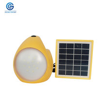 Rechargeable small LED lights solar camping lantern for outdoor