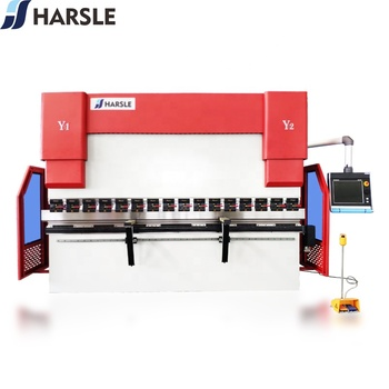 HARSLE CNC hydraulic press brake from Turkey design