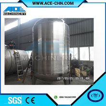 Stainless Steel Food Grade 5000l Mixing Tank with Mixer