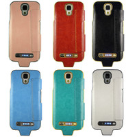 China factory supply new power bank battery case pack for samsung galaxy s4 with Crocodile Grain