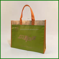 Recyclable promotional non-woven material shopping tote BAG Customized