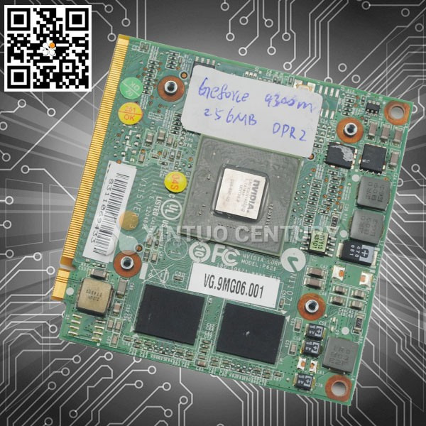 100% brand new and origina NVIDIA GeForce 9300M GS (G98-630-U2) DDR2 256MB 64Bit MXM II VG.9MG06.001 laptop VGA card for Acer
