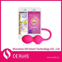 New 2015 Noiseless Waterproof App Seamless sex Wifi Sex Toy Hairy Vagina Adult Sex Toys Rabbit Vibes Kegel Ball