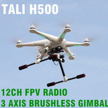 2016 Professional Walkera TALI H500 Hexacopter Camera 3d gimbal 2KM control distance FPV quadcopter rc drone