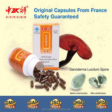 China private label natural slimming capsule dietary supplement lingzhi spore capsule 0.15g/cap*100caps/bottle online wholesale