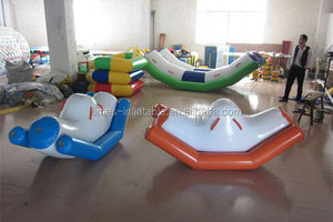 New style low price hot sell hot sale inflatable water seesaw