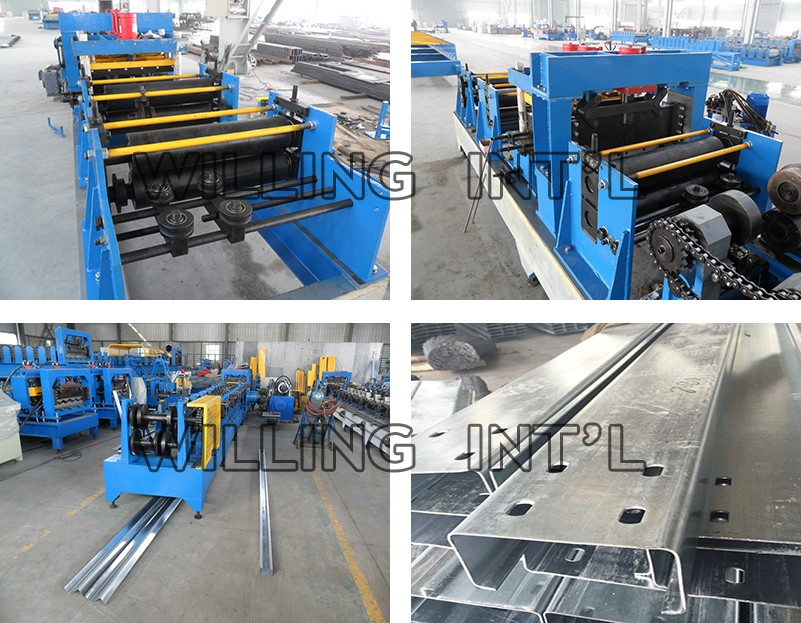 used galvanized metal roof sheet panel roll forming machine india