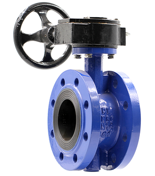 KEFA 150mm 6'' double flanged butterfly valve