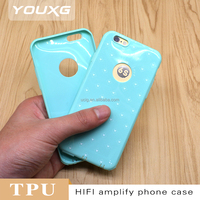 custom design phone case TPU mobile phone case soft phone cover with dust plug