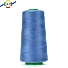 Dyed spun polyester clothes finest sewing threads reel tailoring materials wholesale industrial