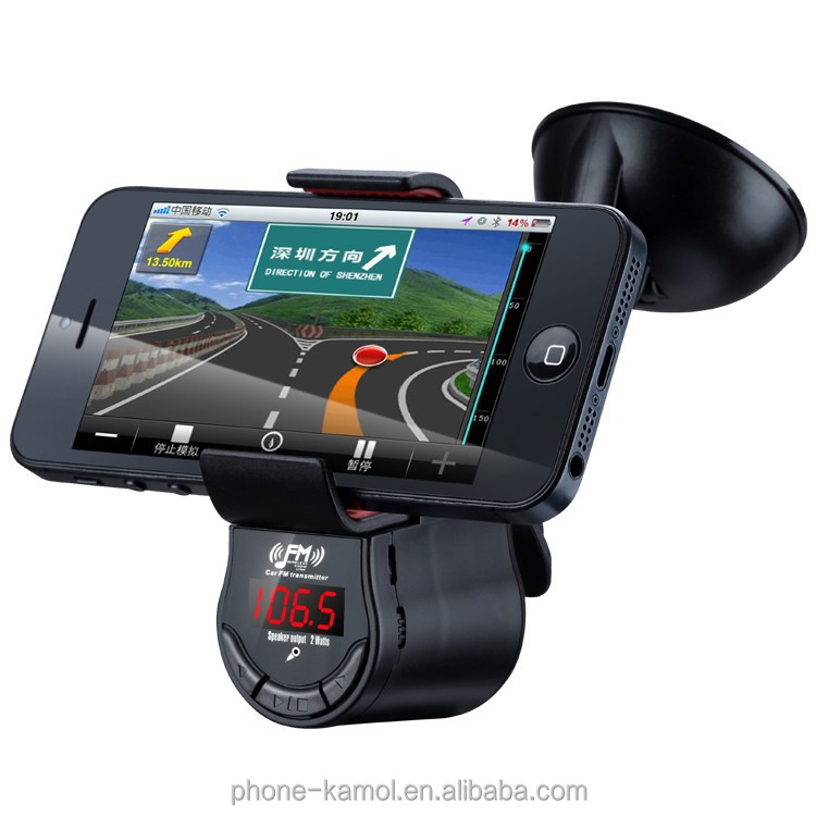 Bluetooth Hands Free Car Kit/Bluetooth V4.0 Multi-functional Phone Holder