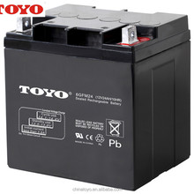 AGM maintenance free lead acid battery 12V 24ah ups battery