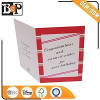 High Quality American Wholesale Greeting Cards Supplies With OEM ODM Service