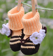 2015 Funny Baby Shoes Imported From China Crochet newborn baby shoes