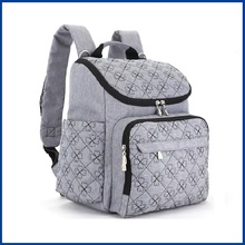Wholesale quilted ngil bag cotton duffle bag diaper bags stylish travel designer and organizer for women