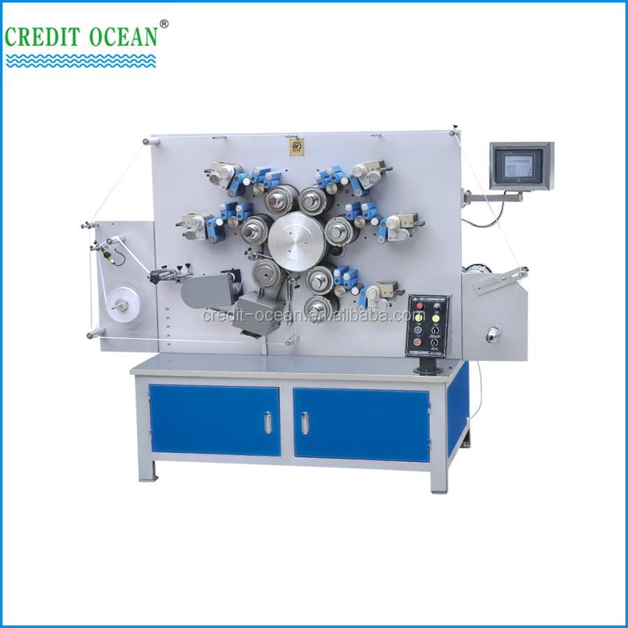 8-Color Double-side Digital Rotary Label printing machine