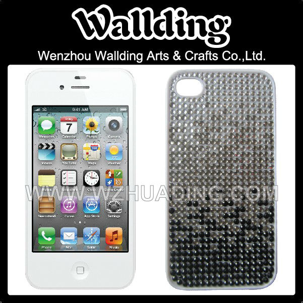 crystal stone diamond mobile phone case for cell iphone 5