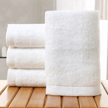 Luxury 16S 100% Cotton White Woven Hotel Face Cloth Bath <strong>Towel</strong> Set