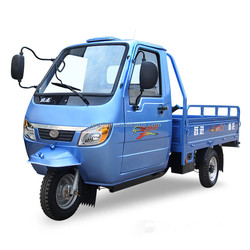 200cc cargo tricycle with closed cabin