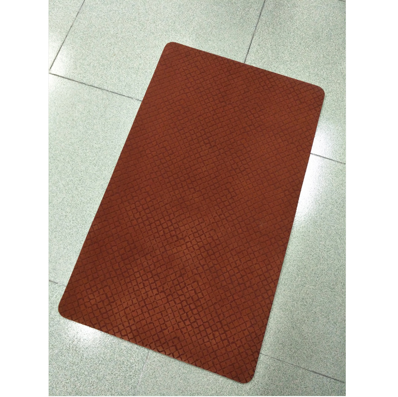 High Quality Woven Fabric Floor Mat with Natural Rubber base rubber backed floor mats