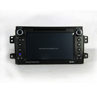"8"" touch scree car stereo AM/FM radio CD DVD player with phonebook GPS navigation blurtooth for Suzuki"