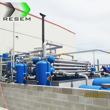 Fully automatic waste plastic machine to diesel tyre pyrolysis oil refine