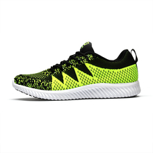 Latest Design Stretch Fabric Heighten Soft Sole Custom Sport Running Shoes
