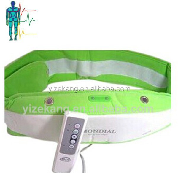 vibration massage belt machine/slimming massage belt
