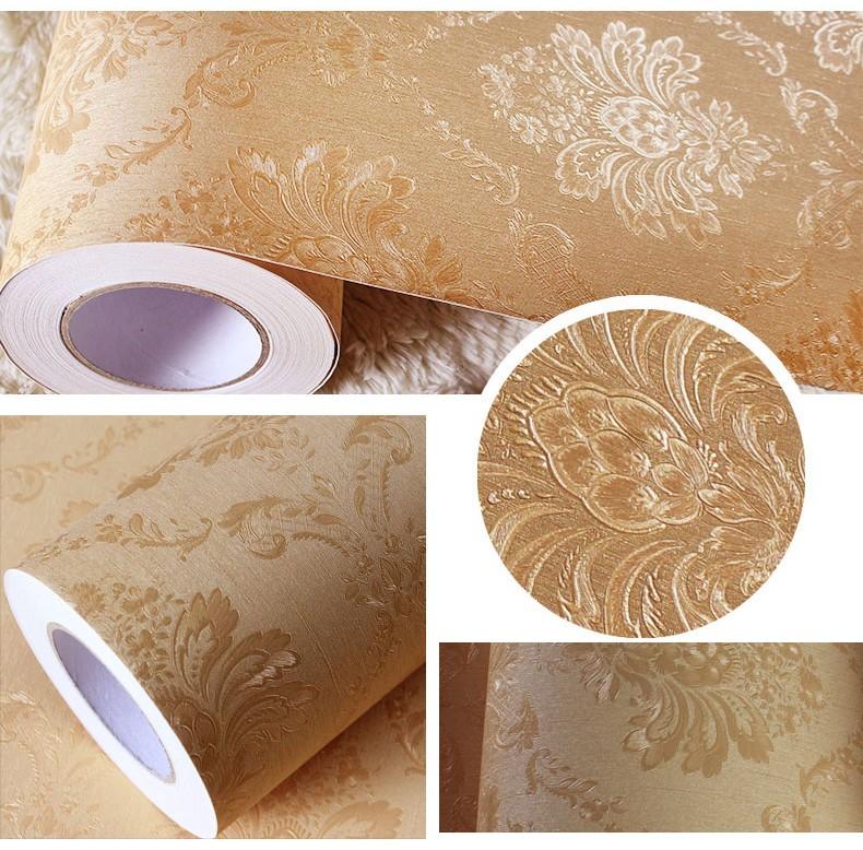 Direct sale modern self adhesive vinyl home wallpaper for Self adhesive vinyl wallpaper