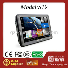 touch screen 7 inch GPS Navigator with dvr radar detector