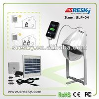 solar led bulb with additional solar panel