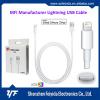 Wholesale MFI 8 Pin USB Cable 2.0 MFI Data Charge Cable for Apple Iphone