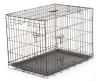 Lucky Dog 2-door Black Wire Pet Crate