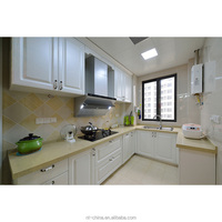 no anti-dump in USA, PVC shaker Complete Kitchens With Kitchen Unit/Cabinets/Cupboards