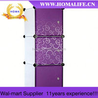 Alibaba express Foldable Modern wardrobe for small spaces