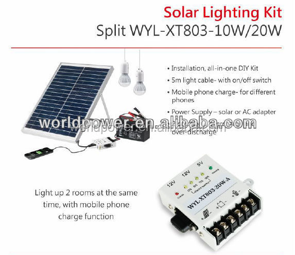 Pannello Solare Portatile Id : Pannello solare portatile piccolo kit di illuminazione