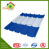 Competitive price 2 layer Environment friendly color corrugated plastic roofing sheet
