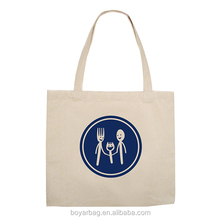 Shoudle silk print eco gym cotton fashion recycle canvas bag