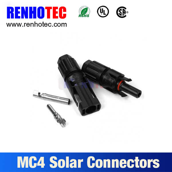 Photovoltaic Solar MC4 connector with 1 pair