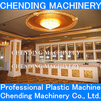 CHENDING machine to making ps foam picture framing extrusion line
