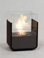 2016 made in china home decoration mini table ethanol fireplace