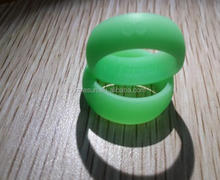 Shining Surface Glow in the Dark Silicone Ring Band