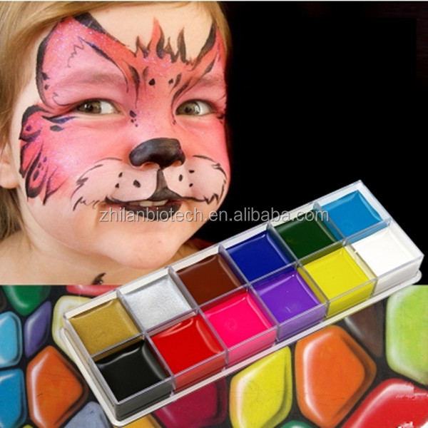 uv neon stick face painting kits for kids