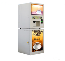 ATS104 Instant tea drinks beverage automatic coffee tea soup vending machine