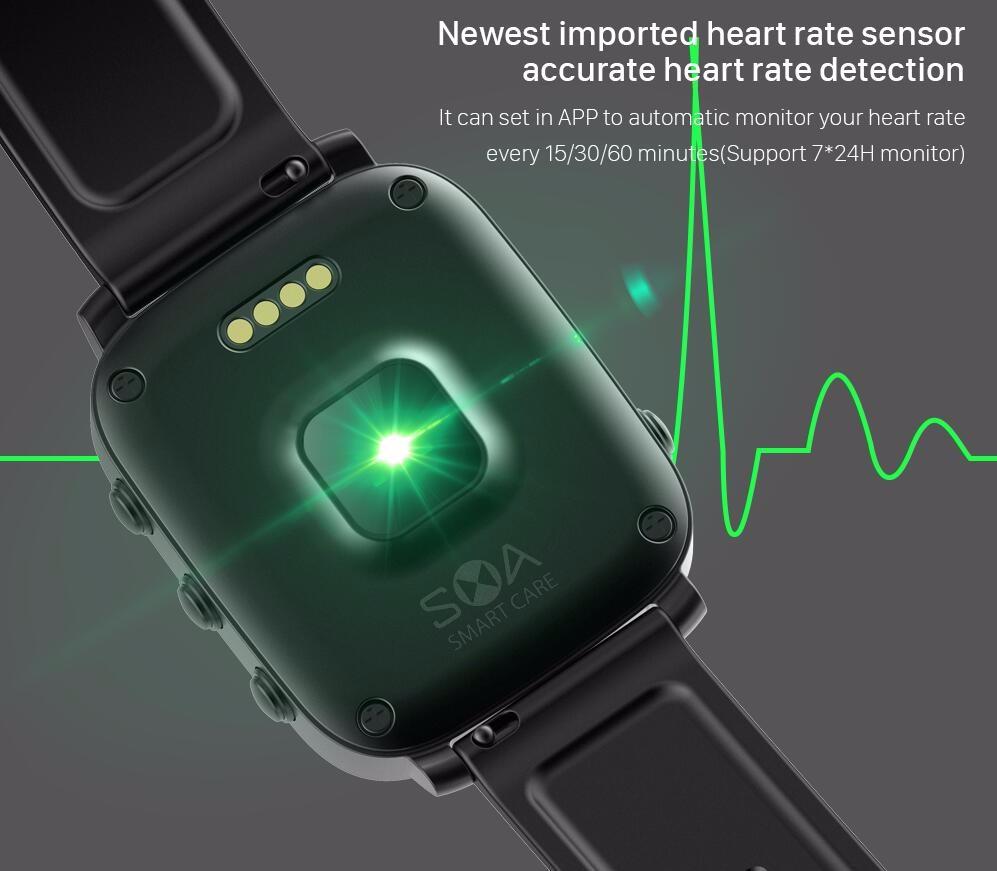 SMA Smart Watch Bluetooth 4.0 Padometer Sleep Monitor Fitness Tracker Cal Messagel Reminder Sports SMA-Q