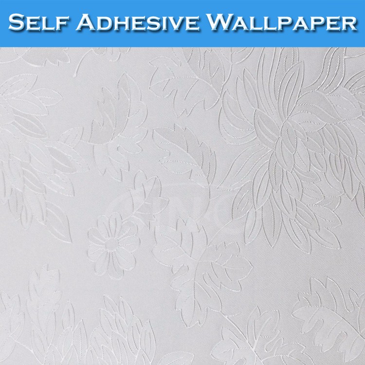5204 SINO Flat Smooth Surface Hotel Decoration 3D Wallpaper Sticker